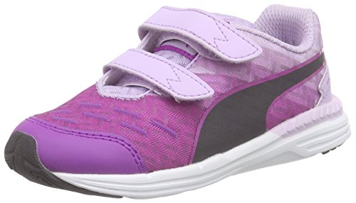 Chaussures purple Violett V Speed periscope Mixte Flower Bloom orchid Enfant De Course Violet Cactus 03 300 Puma Inf EvIqPPw