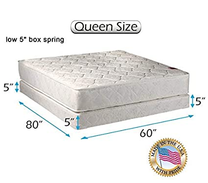 5f5885c5483 Dream Solutions USA Legacy Queen Size (60 quot x80 quot x8 quot ) Mattress  and