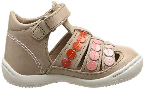 Kickers Gift Baby Mädchen Lauflernschuhe Beige - Beige (Beige/Rose)