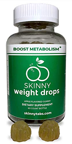 - Skinnytabs Weight Drops Gummies - Apple Flavored - Weight Loss - 60 Count - Control Hunger, Boost Metabolism & Curb Cravings - Green Coffee Bean Extract, Raspberry Ketones Extract, Garcinia Cambogia