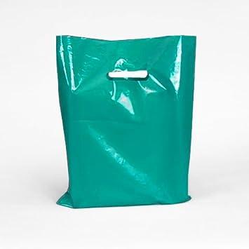 Amazon.com: De color verde azulado bolsas de plástico con ...