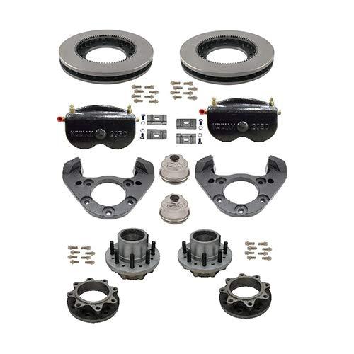 KODIAK BY DEXTER AL-KO 12,000 LB AXLE DISC Brake KIT-Dual Wheel Application (2/RCMHS-11-12A-HD)