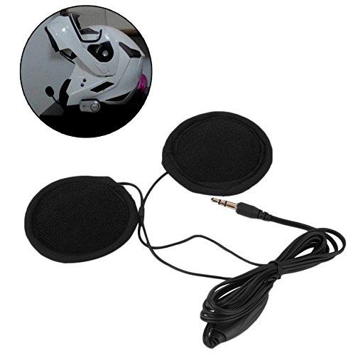 Hensych 3.5mm Motorbike Motorcycle Helmet Stereo Speakers Headphones Volume...
