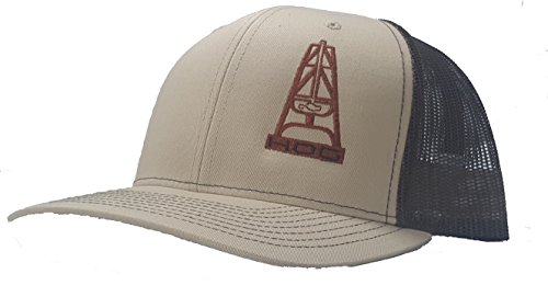 088ddcf3c68 Richardson 3D Puff Hooey Hog Oil Field Hat Cap Snapback Adjustable Adult  Unisex