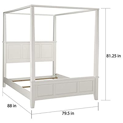 Home Styles 5530-6013 Naples Bed Frame Night Stand