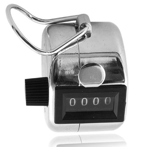 Ecloud Shop® 10X Contador Manual Clickeador Click para Contar Personas [Clase de eficiencia energética A] YBG65*10