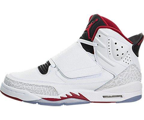 Nike SON OF BG boys basketball-shoes 512246-112_5.5Y - Wh...