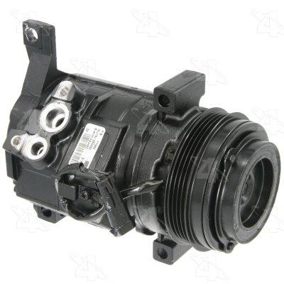 Gmc Yukon A/c Compressor - Four Seasons 77363 Remanufactured Compressor with Clutch