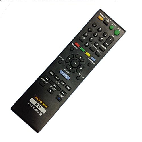 New Replacement Sony DVD BD BLU-RAY Player RMT-B104C Remote control for BDP-S360 BDP-560/B104C/B104P/B104A