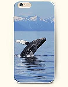 Case Cover For Apple Iphone 6 Plus 5.5 Inch Hard Case **NEW** Case with the Design of Jumping Whale - ECO-Friendly Packaging - Case for iPhone Case Cover For Apple Iphone 6 Plus 5.5 Inch (2014) Verizon, AT&T Sprint, T-mobile
