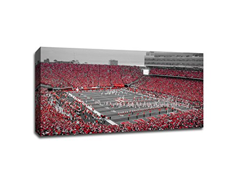 - Nebraska - College Football - 40x22 Gallery Wrapped Canvas Wall Art TOC