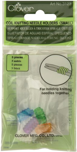 Clover Coil Knitting Needle Holder, Small