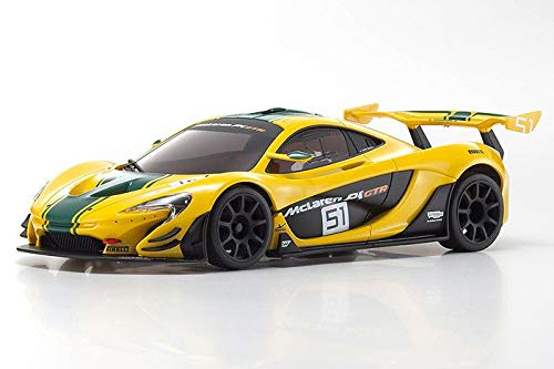 Kyosho Mini-Z MZP235YG-B ASC MR-03W-MM ASC McLaren P1 GTR Yellow/Green (MZP235YG-B)