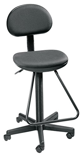 - Alvin DC204 Black Economy Drafting Height Chair