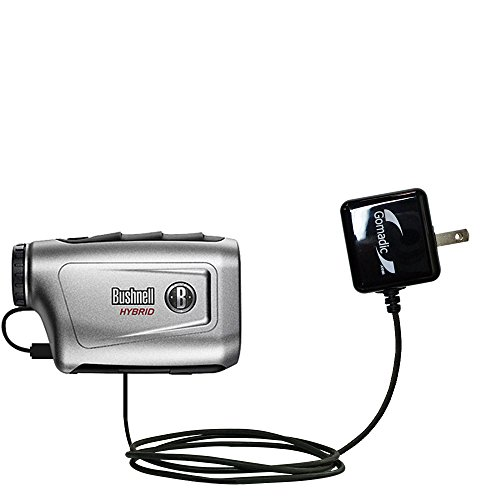 Gomadic High Output Home Wall AC Charger designed for the Bushnell Hybrid Laser GPS with Power Sleep technology - Intelligently designed with Gomadic TipExchange by Gomadic