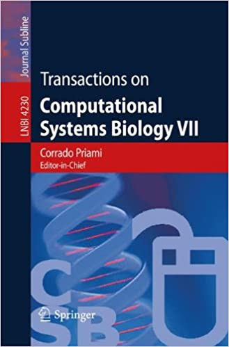 Transactions on Computational Systems Biology VII (Lecture Notes in Computer Science)
