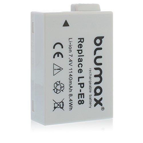 BATTERIA Batteria Per Canon lp-e8; EOS 550d; EOS 600d; EOS 650d EOS 700d BLUMAX