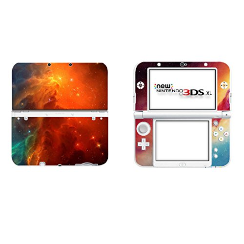 SKINOWN Vinyl Cover Decals Skin Sticker for Nintendo New 3DS XL - Cosmic Nebular