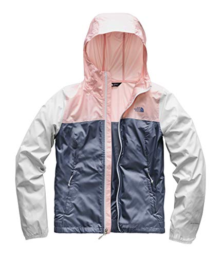 (The North Face Women's Cyclone Jacket, Urban Navy 2L/Pink Salt, Size XS)