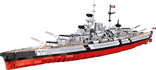 COBI 4810 Historical Collection Battleship Bismarck, Multicolor