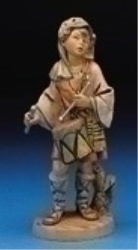 - Fontanini Jareth the Drummer Boy Italian Nativity Village Figurine