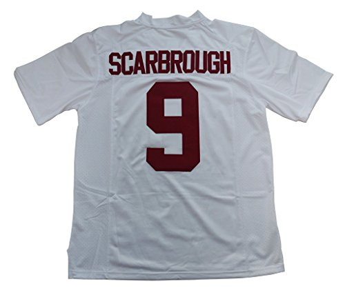 2016-2017 Alabama Bo Scarbrough 9 College Football Limited Jersey Mens White M