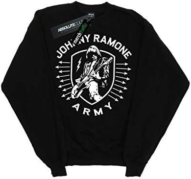 Absolute Cult Johnny Ramone Damen Army Arrows Sweatshirt Schwarz Large