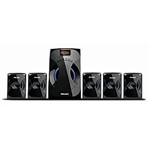 Philips SPA4040B/94 Multimedia Speakers System (Black)