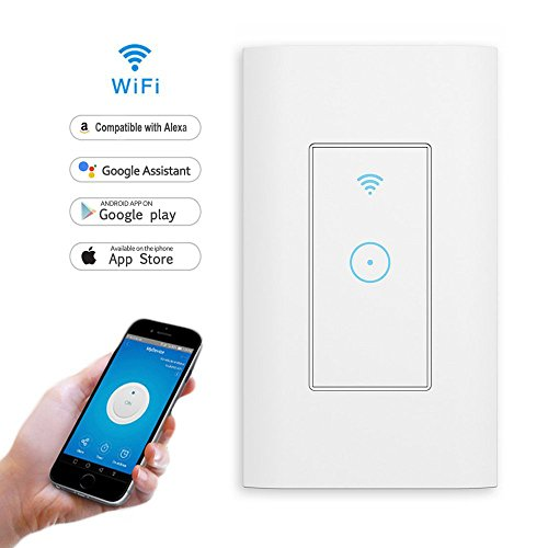 Smart Light Switch,In-wall Smartphone Remote...