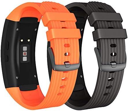 NotoCity Correa para Samsung Gear Fit 2 / Gear Fit 2 Pro Silicona ...