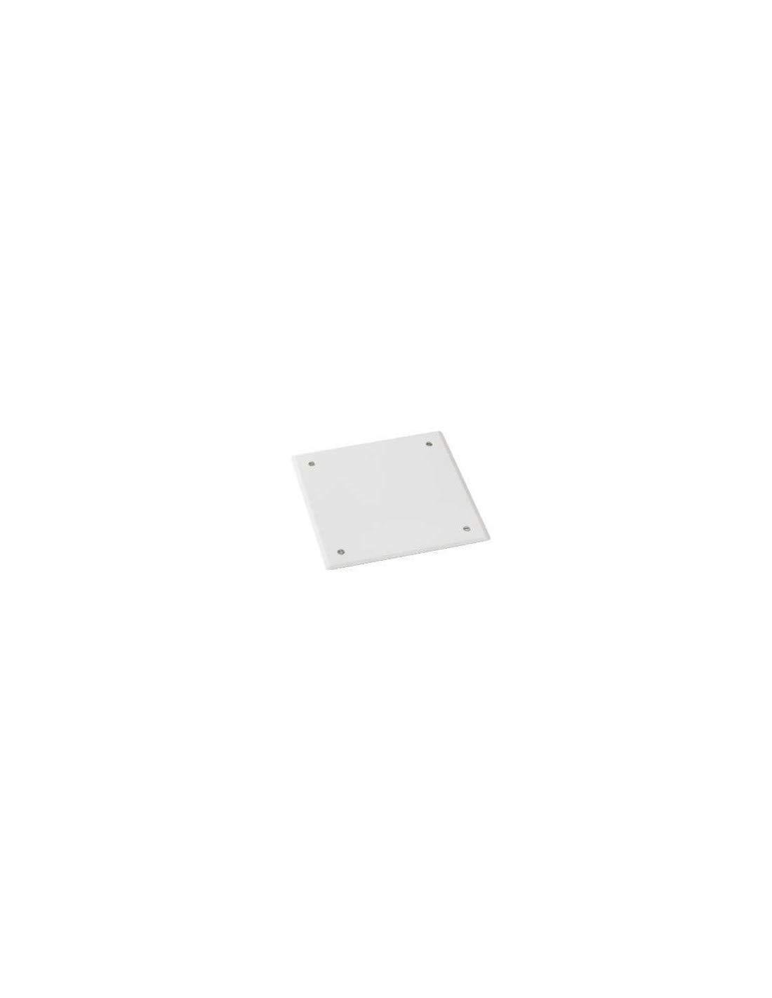 couvercle pour boite de dé rivation - 183 x 183 - blanc - schneider electric enn09496