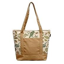 Vietsbay Woman Birds Pattern Printed Canvas Casual Shoulder Bags WAS_13