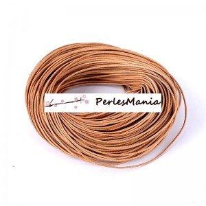 perlesmania.com PAX 5 m/ètres Cordon Fil CUIR Veritable 2mm BEIGE 130821155610