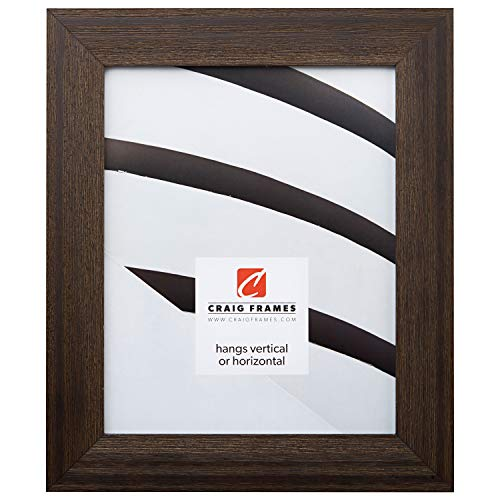 Craig Frames 1.5DRIFTWOODBK 18x36 Picture/Poster Frame, Wood Grain Finish, 1-1/2-Inch Wide, Distressed Black by Craig Frames