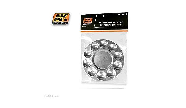 AK Interactive AK613 ALUMINUM PALLET 10 WELLS