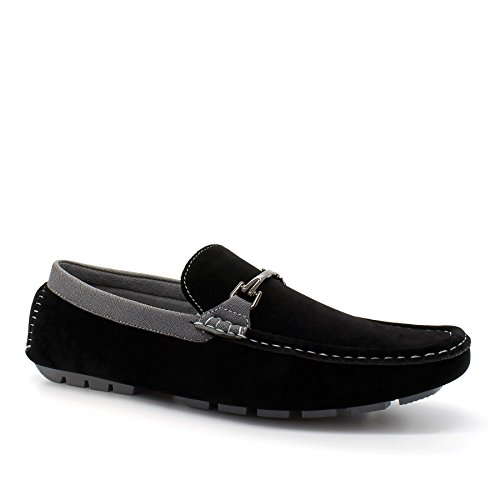 Plateau mit Keilabsatz Herren Schwarz London Sandalen Footwear Durchgängies qwA8FAt