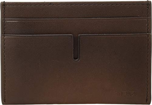 - TUMI - Nassau Money Clip Card Case Wallet with RFID ID Lock for Men - Whiskey Burnished