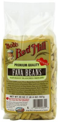 (Bobs Red Mill Beans Fava 20.0 OZ(Pack of 12))