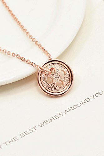 Generic Korean Pinocchio same paragraph Korean version of the new coin necklace chain clavicle simple and stylish women