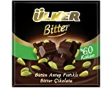 ulker chocolate - Ulker Butun Antep Fistikli Bitter Cikolata Dark Chocolate with Whole Pistachios Turkish Chocolate