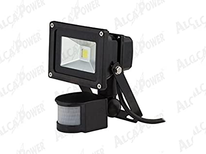 ALCAPOWER LÁMPARAS LED LED FARO NO W.10 SENSOR DE MOVIMIENTO