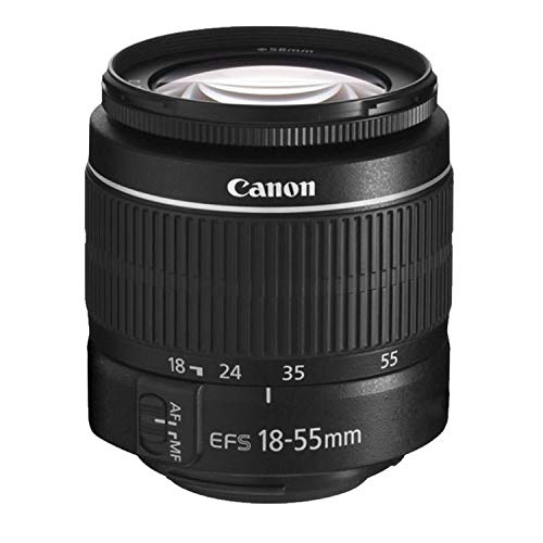 Canon EOS Rebel T7 DSLR Camera w/ 18-55mm F/3.5-5.6 is II Lens with 420-800mm Preset f/8 T-Mount Telephoto Lens + Case…