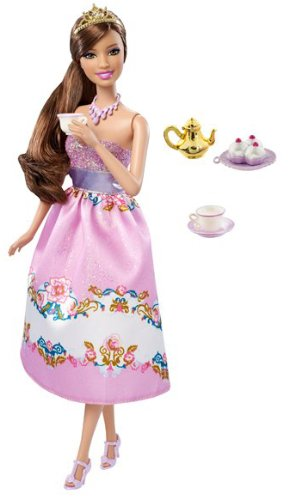Barbie Princess Tea Party Teresa Doll, Baby & Kids Zone