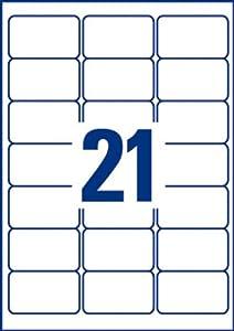 Avery 252 Etiquettes Autocollantes Un Produit De Qualite