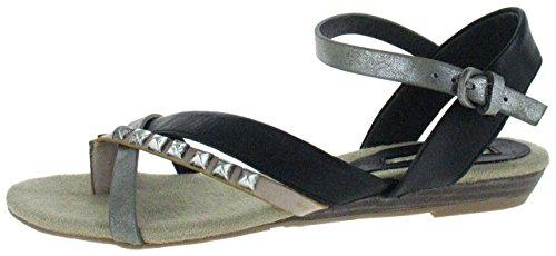 Buffalo Sandale H152-128 black 37