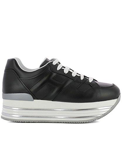 Hogan Women Hxw3460t548klab999 Sneakers In Pelle Nera