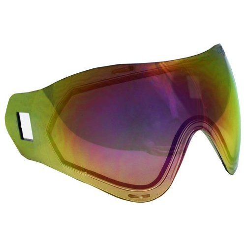 Sly Equipment Profit Goggle Replacement Thermal Lens - Red Mirror Gradient by Sly