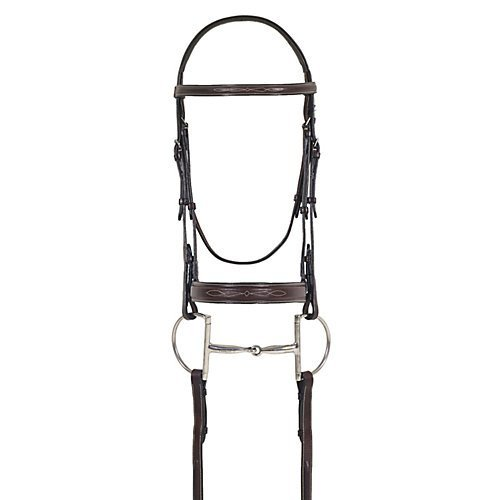 Padded Bridle Raised (Ovation Fancy Stitch Raised Padded Bridle Horse)