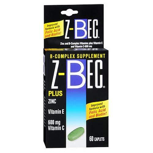 Z-BEC Caplets 60 Caplets (Pack of 2)