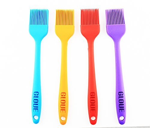 GLOUE Silicone Pastry Brushes Clean